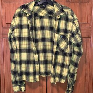 Cropped flannel